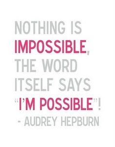 I'mpossible.