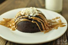 Chocolate Peanut Butter Flourless Cake - Low Carb, Gluten Free | Peace Love and Low Carb