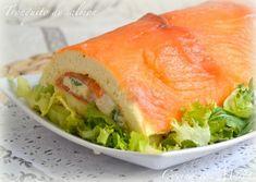 Tronquito salado de salmon (Con y sin Thermomix)