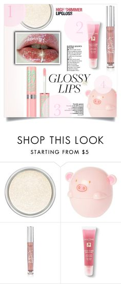 """""""Ultra Glossy Lips"""" by dolly-valkyrie ❤ liked on Polyvore featuring beauty, MAC Cosmetics, Victoria's Secret, Lancôme, Bobbi Brown Cosmetics and glossylips"""
