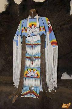 Native American Regalia dress....amazing beadwork!