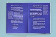 Non-Verbal Club on Behance Magazine Design, Graphic Design Magazine, Graphic Design Layouts, Graphic Design Print, Brochure Design, Magazine Art, Text Layout, Print Layout, Book Layout