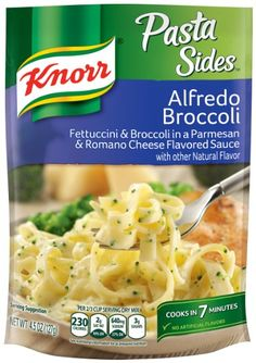 Best Knorr Pasta Sides Alfredo Broccoli Recipe On Pinterest