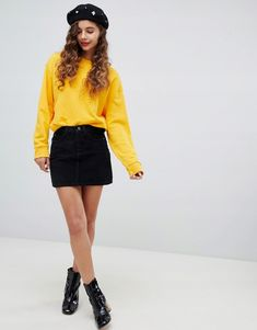 Browse online for the newest Bershka button cord mini skirt styles. Shop easier with ASOS' multiple payments and return options (Ts&Cs apply). Asos, Mini Skirts, Clothes, Style, Christmas, Accessories, Image, Fashion, Micro Skirt