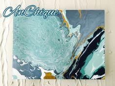 Paint Pour by AnChique