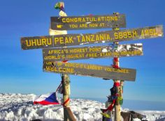 Climb Mt Kilimanjaro, one of the Seven Summits, and enjoy an exciting African wildlife safari on this fantastic trip!