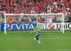 1 second later.... Champions of Europe. I was there. Munich 2012.