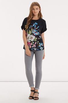 The Midnight Garden Tee - part of the V&A Collection #MyLifeInPrint