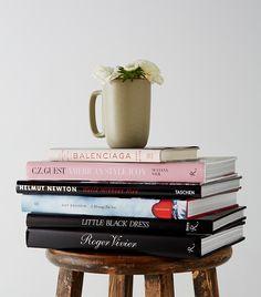 Fashion Books, Balenciaga, Roger Vivier, Vivienne Westwood, Helmut Newton, Andre Leon Talley