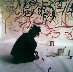 """Basquiat used social commentary in his paintings as a """"springboard to deeper truths about the individual"""",[2] as well as attacks on power structures and systems"""
