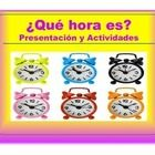 This product is utilized to teach students how to tell time in Spanish.  It includes an interactive presentation with rules and activities for stud...