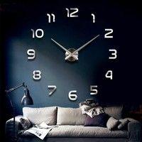 Wish | Large Mirrored Wall Clocks home decor