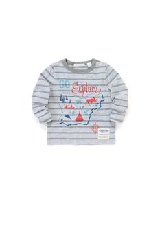 Country Road - Baby Boy's Clothing, Footwear & Accessories Online - Map T-Shirt