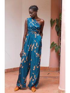 UMY Jumpsuit - Yraf Blue – diarrablu Kimono Dress, Jumpsuit Dress, Geek Underwear, Military Ball Dresses, Waist Cincher Corset, Plus Size Jumpsuit, Waist Training Corset, Lingerie, Clubwear