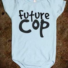 Future Cop Onesie