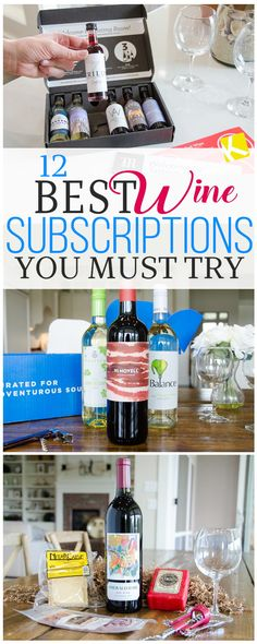 Love wine? Check out the best wine subscriptions you gotta try... like today.