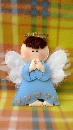Angelito en fieltro