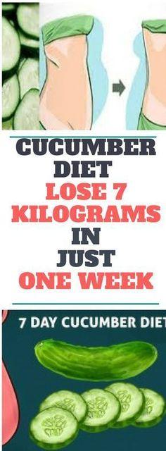 Cucumber Diet – Lose 7 Kilograms In Just One Week...! Read this..!
