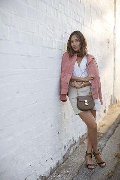 Fall bag trend: saddle bags (like Aimee Song's Chloe bag)