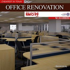 Other for sale, in Klang, Selangor, Malaysia. EXCELLENT QUALITY! ONE STOP OFFICE RENOVATION COST IN MALAYSIA – CHEAPEST EVER!  RM0. 99/SQFT  If