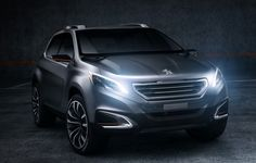 Peugeot Urban Crossover Concept Car is a dynamic-looking compact crossover vehicle that was unveiled at the 2012 Beijing Motor Demonstrate. The Peugeot Urban Crossover concept… Citroen Ds, Psa Peugeot Citroen, Peugeot 208, 2015 Honda Pilot, Diesel, Small Luxury Cars, Small Cars, Small Suv, Automobile