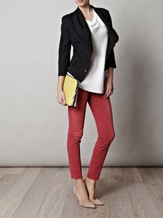 Gianvito Rossi shoes  Notify jeans  Vivienne Westwood Red Label Jacket