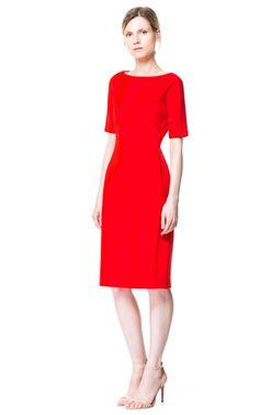 Image 1 of TUBE DRESS from Zara