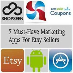 7 Must-Have Marketing Apps For Etsy Sellers http://www.craftmakerpro.com/marketing-tips/7-must-marketing-apps-etsy-sellers/