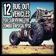 12 Best Bug Out Vehicles for Surviving the Zombie Apocalypse