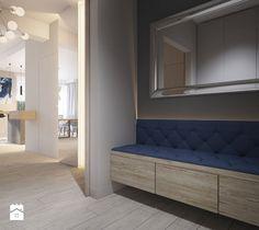 Aranżacje wnętrz - Hol / Przedpokój: pikowana ławka w holu - Finchstudio Architektura Wnętrz. Przeglądaj, dodawaj i zapisuj najlepsze zdjęcia, pomysły i inspiracje designerskie. W bazie mamy już prawie milion fotografii!