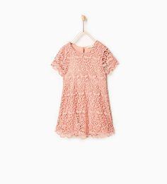 Guipure lace dress-DRESSES AND JUMPSUITS-Girl-Kids | 4-14 years-KIDS | ZARA United States