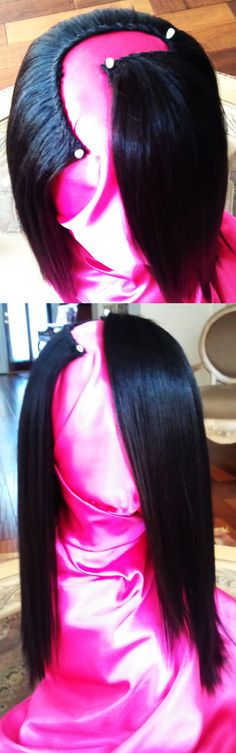 L-Part Wigs for Divas rocking side parts. www.upartwigs.net