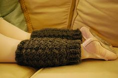 Free Crochet Leg Warmer Pattern.