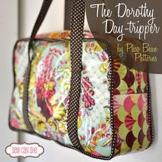 Pattern Review: The Dorothy Day Tripper from Paco Bean — Sew Can She | Free Daily Sewing Tutorials