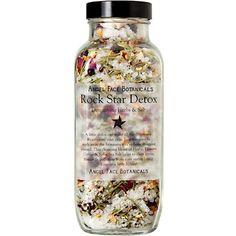 ROCK STAR DETOX Rustic Bath. Detoxifying Herbs & Sea: 24.00