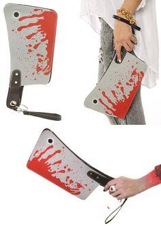 Una bolsa-cuchillo