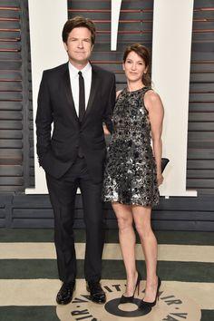 Pin for Later: Voilà Ce Que les Célébrités Ont Fait à L'afterparty des Oscars Jason Bateman et Amanda Anka