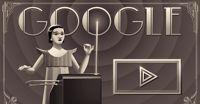 Un fantastico doodle musicale interattivo dedicato al theremin e a Clara Rockmore coincide con il lancio  del Chrome Music Lab. Da provare!