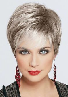 short grey hairstyles for women | ... Example of Short Grey Hairstyles : Short…