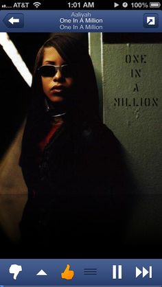 Aaliyah #OneInAMillion #90s #Music - loved her!!