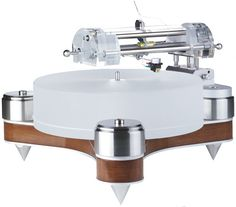 Clearaudio AMG Wood CMB Turntable - www.remix-numerisation.fr