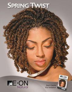 Spring Twist Hair