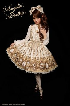 Cameo window Angelic Pretty