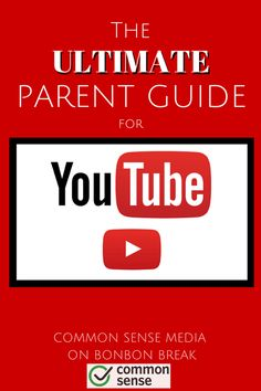 """The Ultimate Parent Guide to YouTube -- spend 2 minutes in the settings and you will have a """"safer"""" YouTube for your kids."""