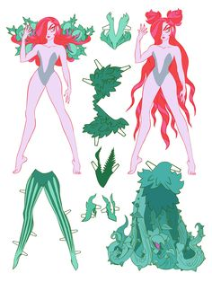 Comic Character, Character Concept, Millie The Model, Different Drawing Styles, Sci Fi Horror, Dc Comics Characters, Vintage Paper Dolls, Character Design References, Comic Artist