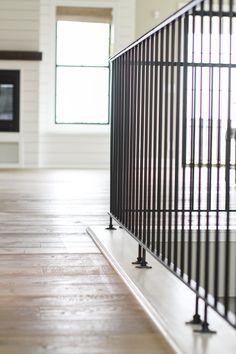 Oakstone Homes: Modern Farmhouse with Hallmark Floors - Katalina Girl Modern Farmhouse Design, Modern Farmhouse Exterior, Farmhouse Homes, Farmhouse Style Decorating, Farmhouse Plans, Modern House Design, Yellow House Exterior, Yellow Houses, Building Design