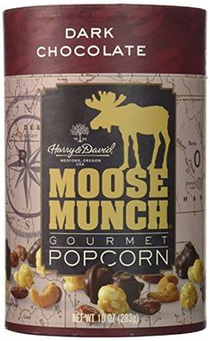 Harry David Moose Munch Gourmet Popcorn Dark Chocolate 10 Oz ** Check this awesome product by going to the link at the image. Popcorn Gift, Popcorn Bags, Gourmet Popcorn, Popcorn Recipes, Gourmet Recipes, Snack Recipes, Moose Munch Popcorn Recipe, Harry And David, Chocolate Moose