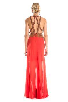 Dress & Go - Aluguel de vestidos de grandes estilistas | Vestido Castle Vermelho