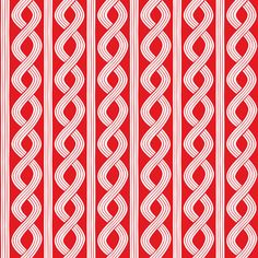 Red and White Christmas Fabric/Blend Seersucker by ChristmasJul, $2.50