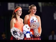 Elina Svitolina vs Petra Kvitova (Presentation Ceremony) WTA Elite Troph...